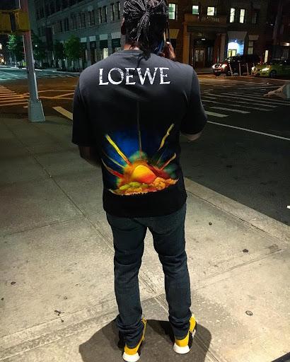 pusha T LOEWE