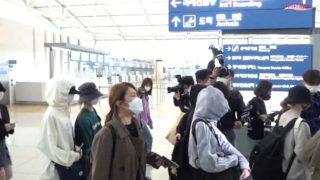 NiziU 空港